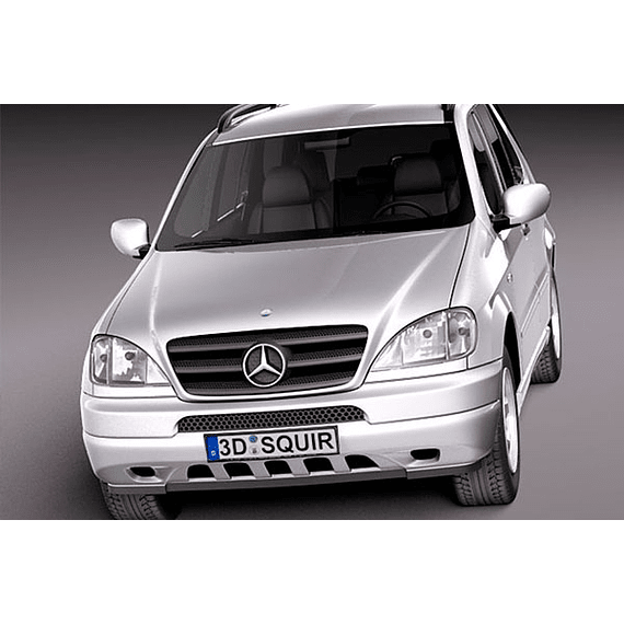Manual de Despiece Mercedes Benz W163 ( 1997 - 2005 ) En Español