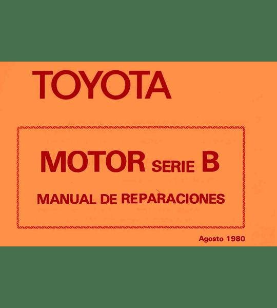 Manual de Taller Toyota Serie B ( 1980 - 1984 ) Español