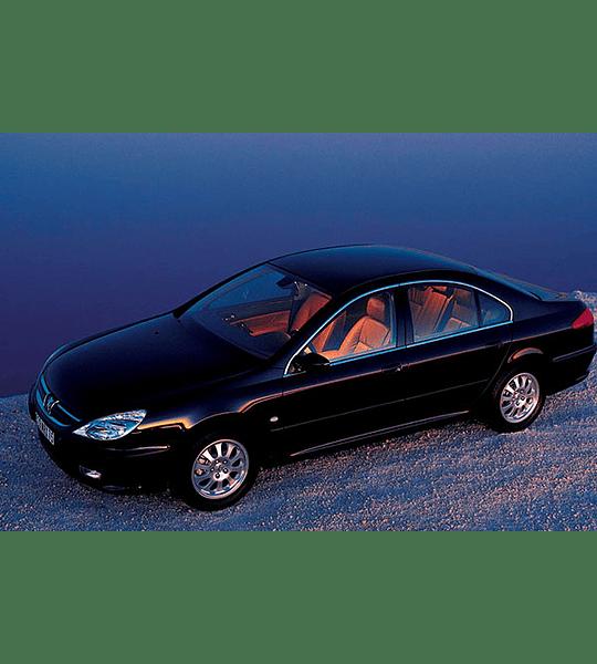 Diagramas Eléctricos - Peugeot 607 ( 2002 - 2004 ) Ruso