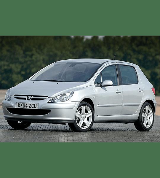 Manual de Taller Peugeot 307 ( 2001 - 2008 ) Inglés