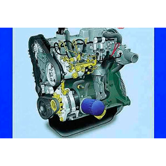 Manual de Taller Motor Citroën  Diesel  ( 1984-1996 ) Inglés