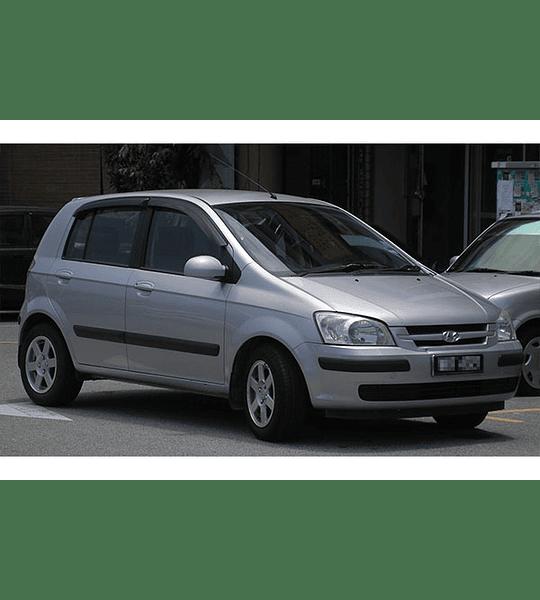 Manual de Taller Hyundai Getz ( 2006 - 2008 ) Inglés
