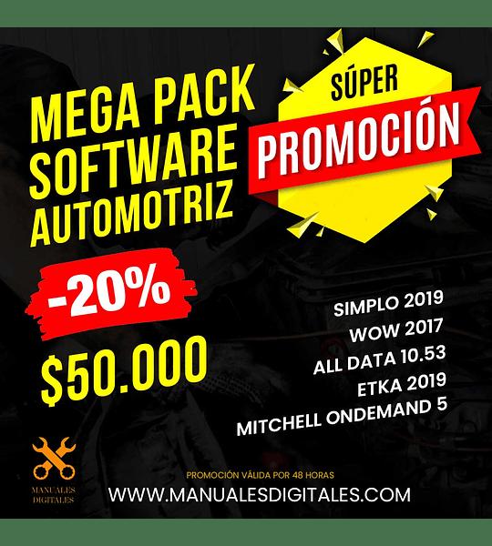 Super Mega Pack Software Automotriz 2020