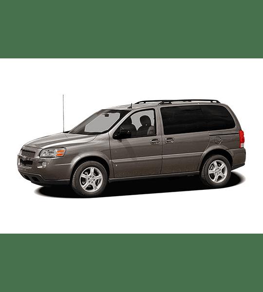 Manual de Taller Chevrolet Uplander ( 2005 - 2009 ) Inglés