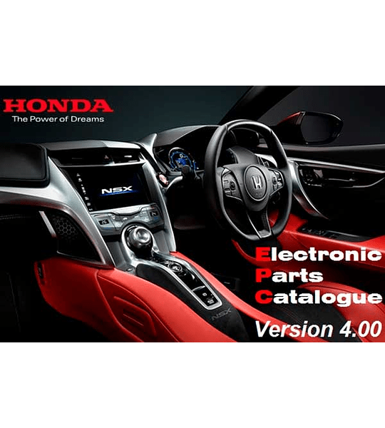 Honda General 2019 v4.00 Multilenguaje