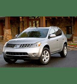 Manual de Taller Nissan Murano ( 2002 - 2007 ) Inglés