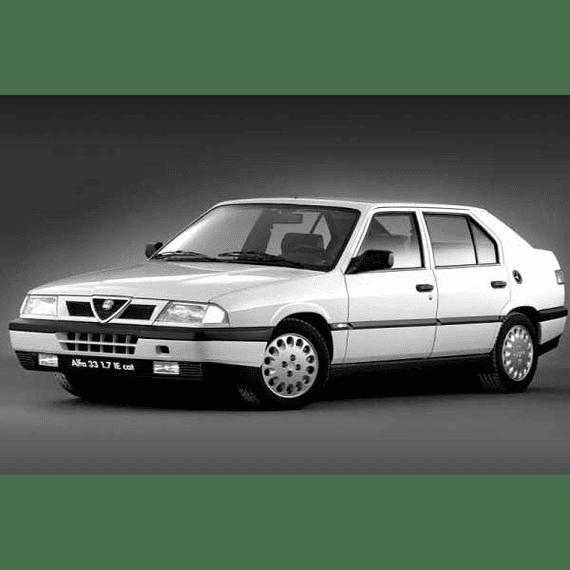 Manual De Taller Alfa Romeo 33 (1983-1995) En Español