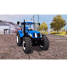 Manual De Taller New Holland T6050 En Inglés