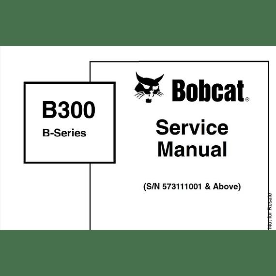 Manual De Taller Bobcat B300