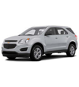 Manual De Taller Chevrolet Equinox ( 2010 - 2017 ) Inglés
