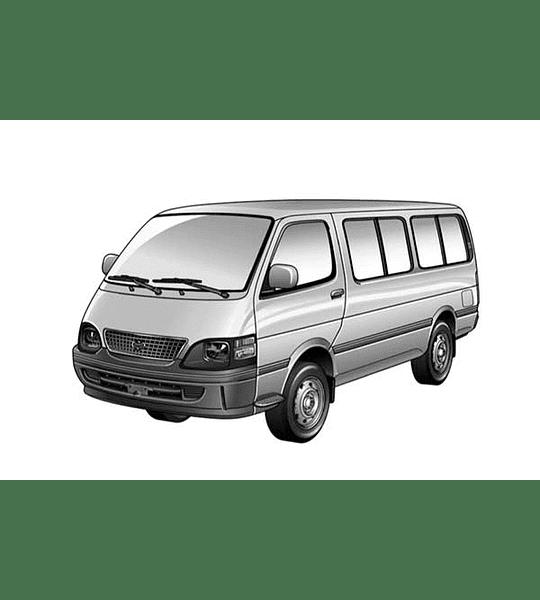 Manual De Taller Toyota Hiace ( 1982 - 1989 ) Inglés