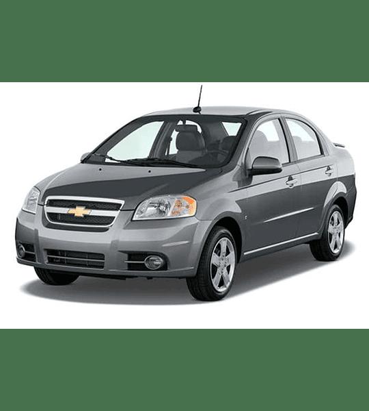 Manual de Taller Chevrolet Aveo ( 2007 - 2010 ) Inglés