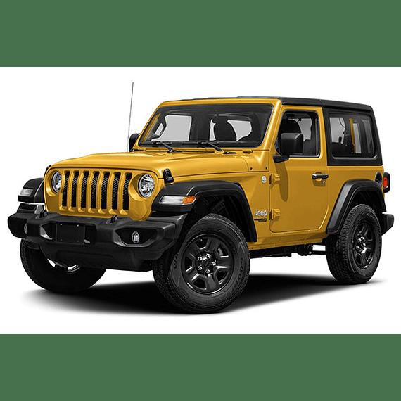 Diagramas Eléctricos Jeep Wrangler JL ( 2018 - 2020 ) En Inglés