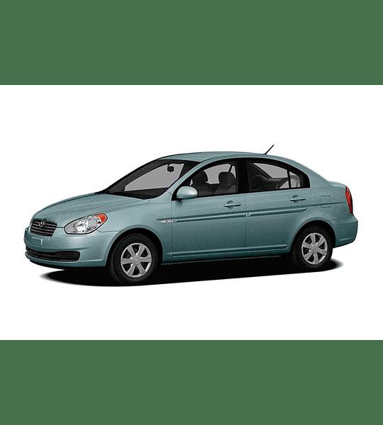 Manual de Despiece Hyundai Accent ( 2005 - 2011 ) Español