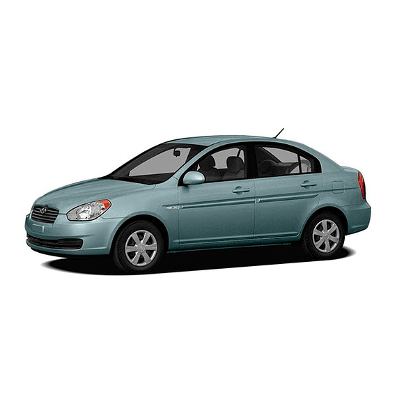 Manual de Despiece Hyundai Accent ( 2005 - 2011 ) Español