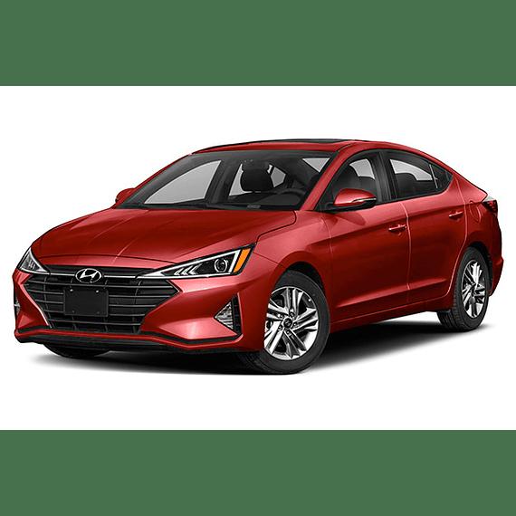 Manual de Despiece Hyundai Elantra ( 2016 - 2020 ) En Español