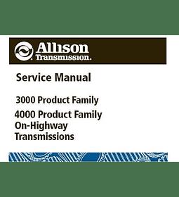 Manual de Taller y Reparación Caja de Cambios / Transmión - Allison Serie 3000 y 4000