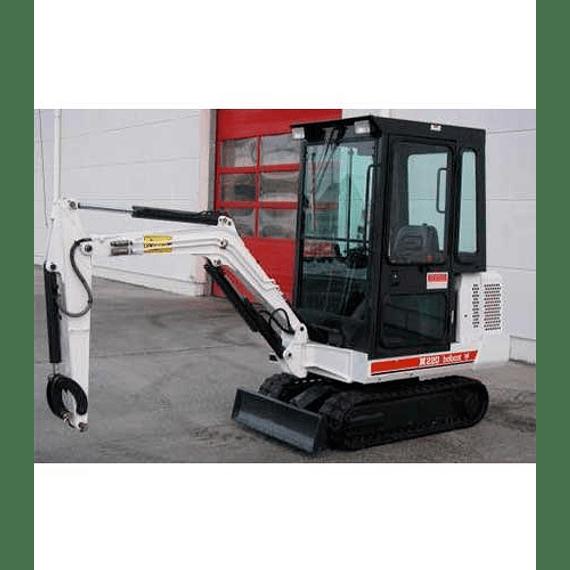 Manual de Reparación y Servicio - Bobcat  X220