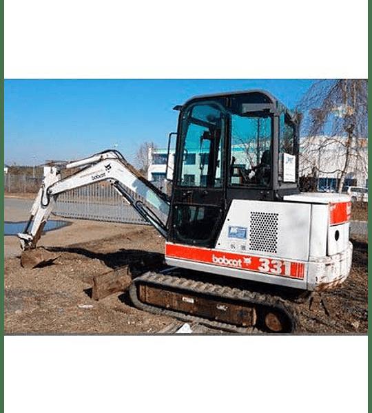 Manual de Reparación y Servicio - Bobcat X331