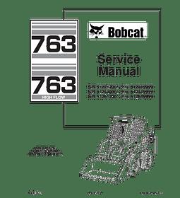 Manual de Reparación y Servicio  - Bobcat 763