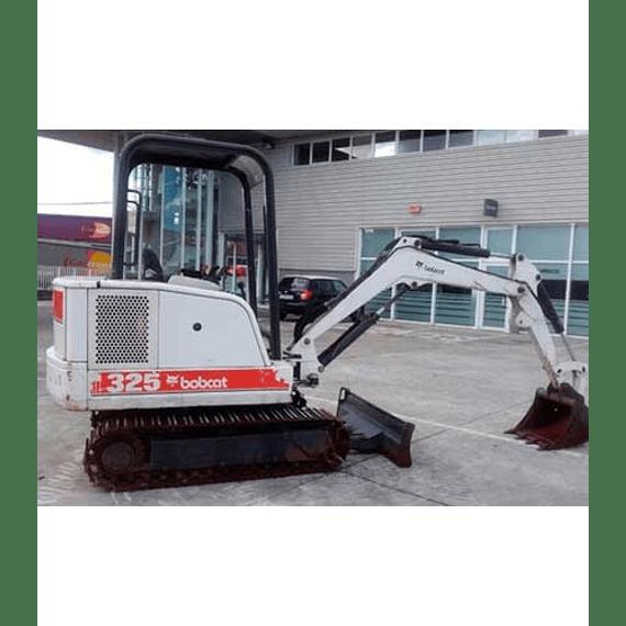 Manual de Reparación de Servicio  - Bobcat 325, 328