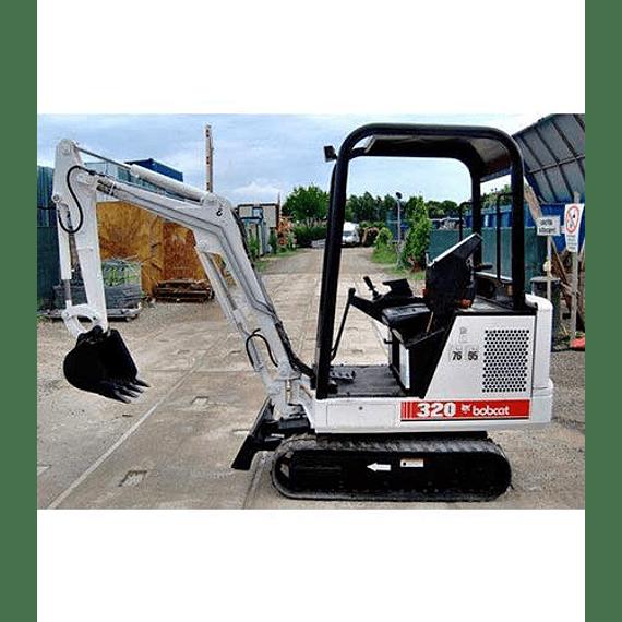 Manual de Reparación del Servicio - Bobcat X320