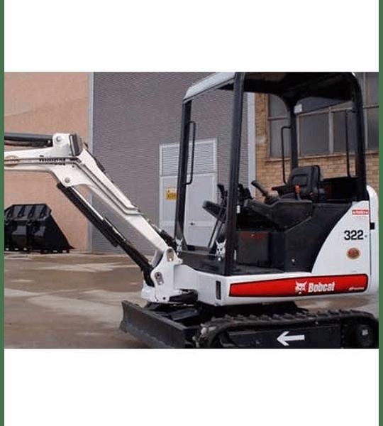 Manual de Reparación del Servicio - Bobcat X320 / 322