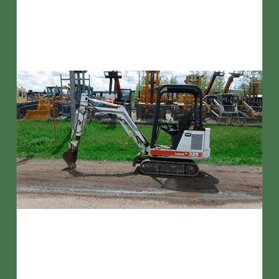Manual de Piazas - Bobcat 320D 320G 322D 322G