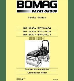 Manual de Reparación de Servicio - Bomag BW 100120125 AC-4 AD-4