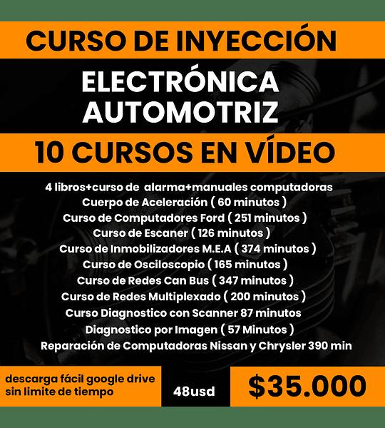 Curso de Inyección Electrónica Automotriz - 10 Vídeos