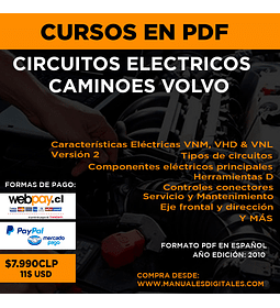Curso Circuitos Eléctricos Camiones Volvo -  En Español