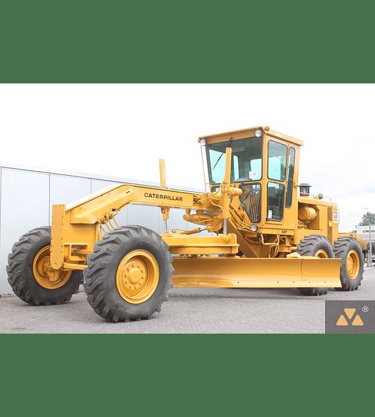 Manual de Reparación y Servicio Caterpillar 140G MOTOR GRADER 13W