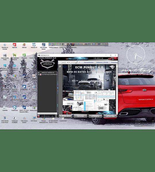 ECM Pinout 6.1  Base de datos ( 2020 )