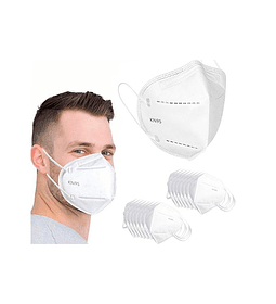 Pack 20 Mascarilla KN95 Proteccion Facial 5 Capas