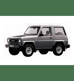 Manual de Taller - Daihatsu Rocky ( 1984 - 2002 ) En Inglés
