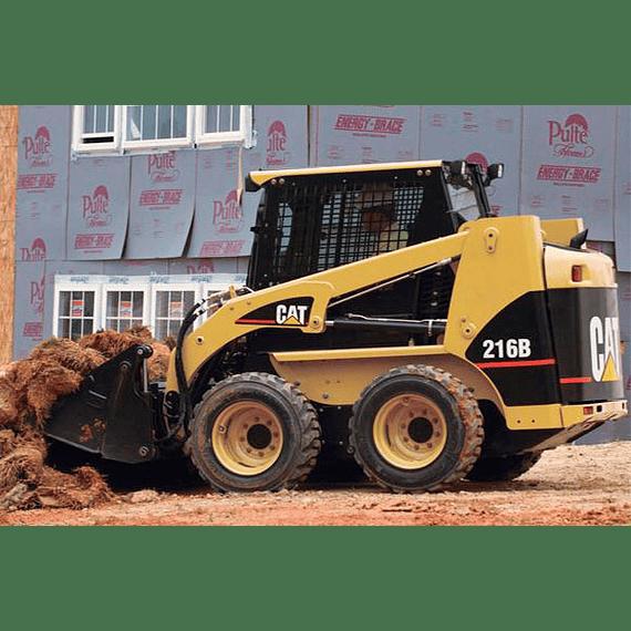 Manual De Taller Caterpillar 216B, 226B, 232B, 242B
