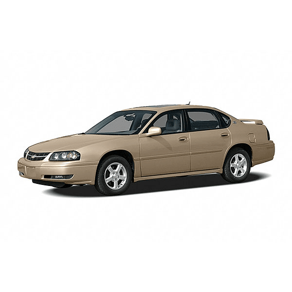 Manual De Taller Chevrolet Impala (2000-2005) En Español