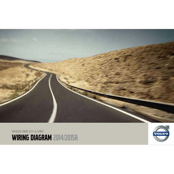 Diagramas eléctricos  Volvo S60 V60 ( 2014 - 2015 )