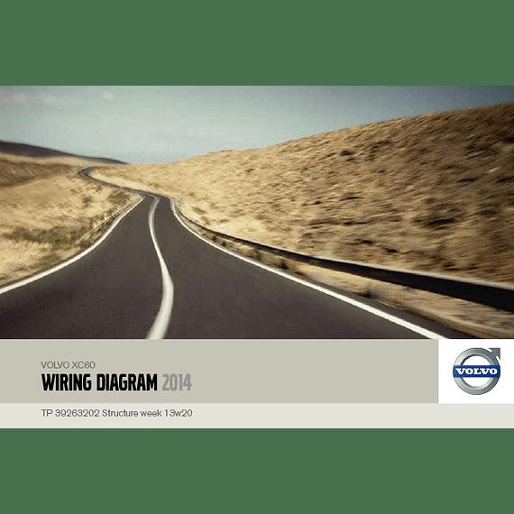 Diagramas eléctricos Volvo XC60 ( 2014 )