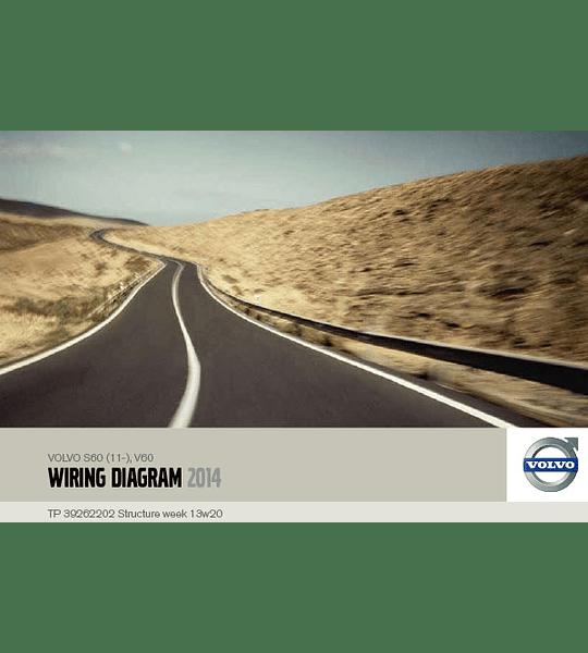Diagramas eléctricos Volvo S60 V60 ( 2014 )