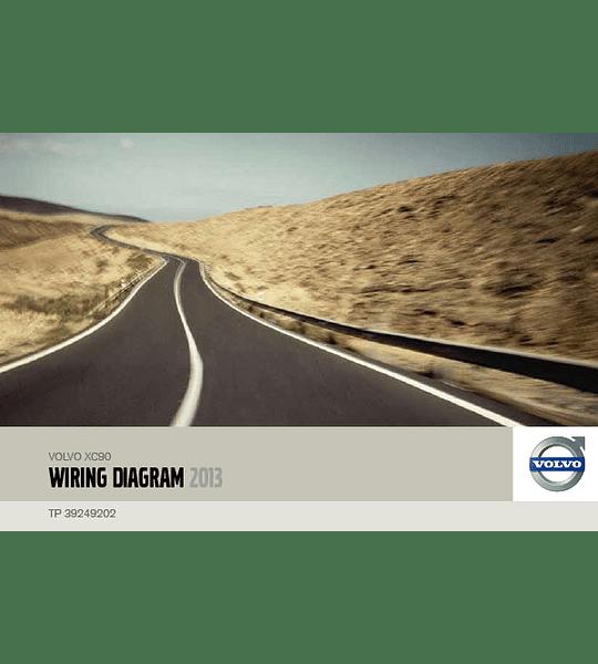 Diagramas eléctricos Volvo XC90 ( 2013 )