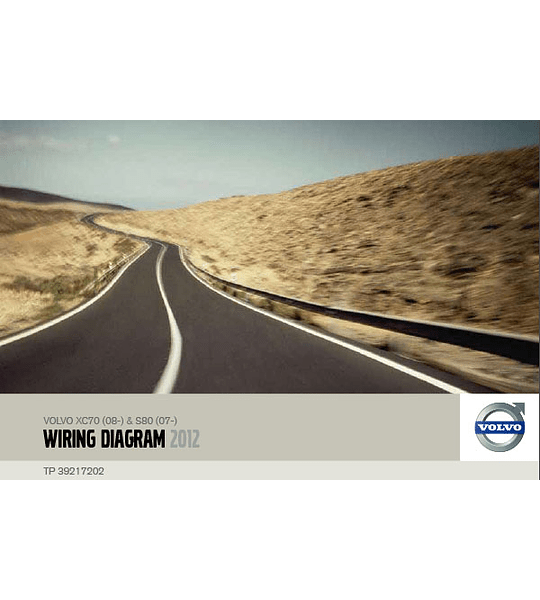 Diagramas eléctricos Volvo XC70 S80 ( 2012 )