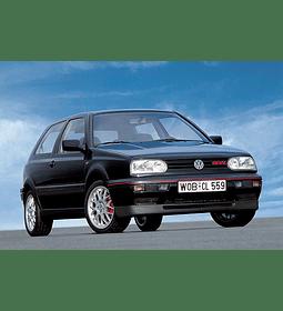 Manual de Taller Volkswagen Jetta, Golf, GTI ( 1993-1999 ) inglés