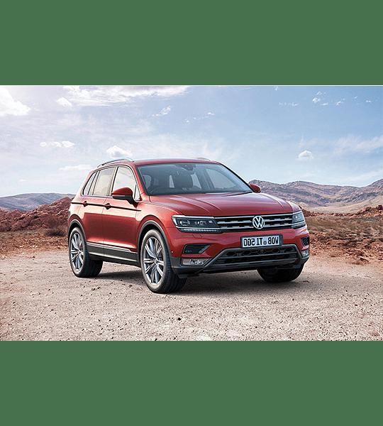 Manual de Taller Volkswagen Tiguan ( 2016 ) inglés