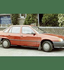 Manual de Taller Vauxhall Opel Astra / Belmont ( 1984 - 1991 ) inglés