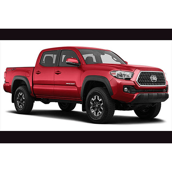 Manual De Taller Toyota Tacoma ( 2015-2018 ) inglés