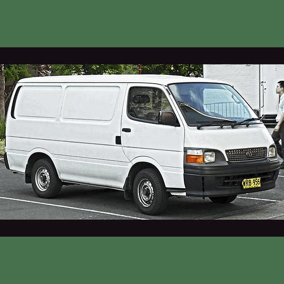 Manual de Taller Toyota Hiace Serie LH y RZH ( 1998 - 2004 ) inglés