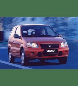 Manual De Taller Suzuki Ignis (2000-2008) Español