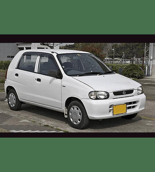 Manual De Despiece Suzuki Alto (2000-2014) Español