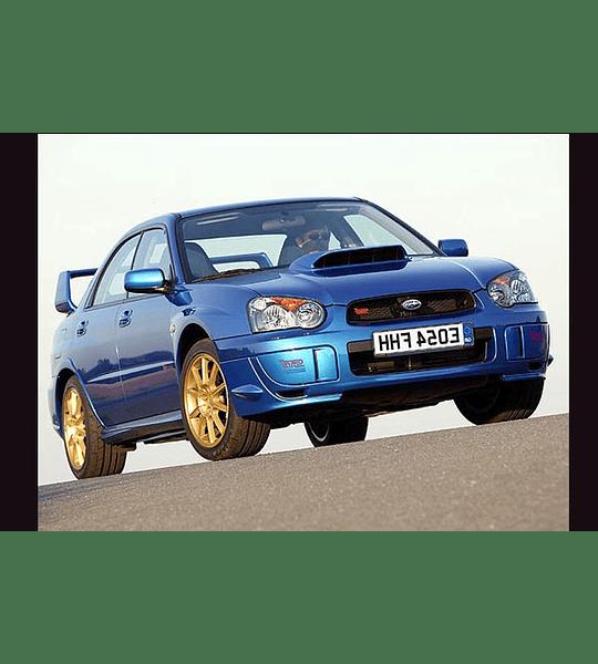 Manual De Taller Subaru Impreza 2000-2007 Español